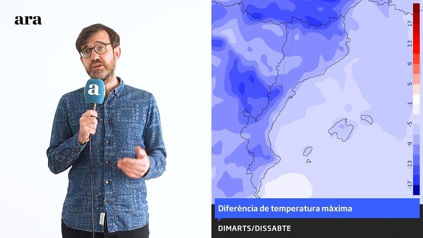 La méteo: el fred de ple hivern marcarà la primera part de les festes