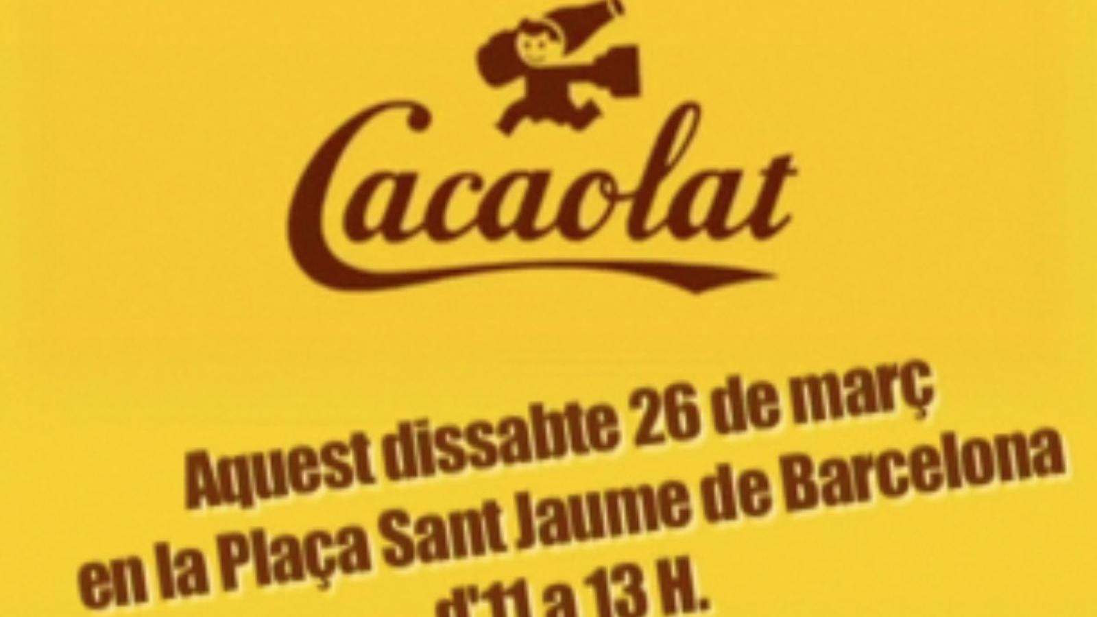 Els treballadors de Cacaolat convoquen a manifestar-se per salvar la marca