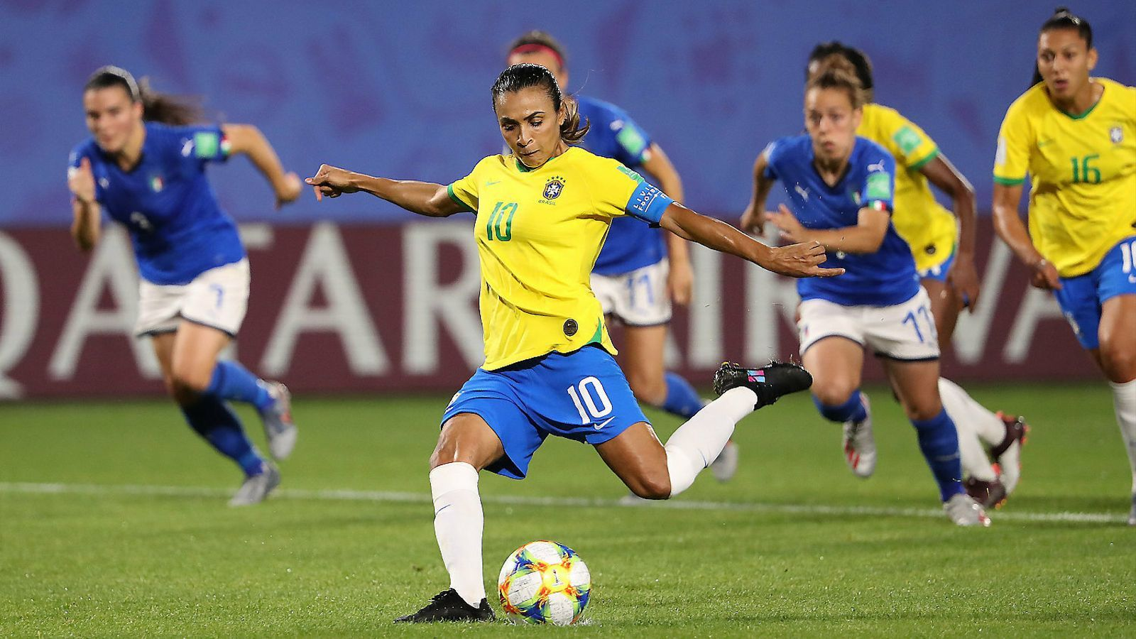 Marta és la màxima golejadora dels Mundials amb 17 gols en cinc edicions.