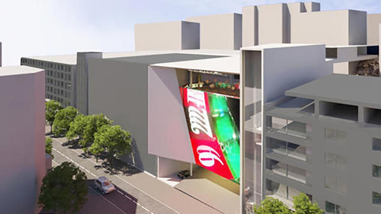 Fotomuntatge de com quedaria el casino proposat per Jocs SA / JOCS SA