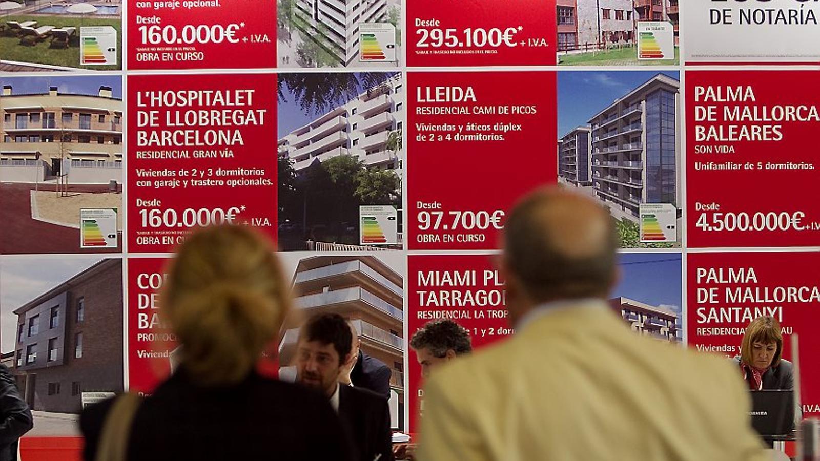 Les hipoteques ja s'encareixen  i creixen un 9,4% a Catalunya