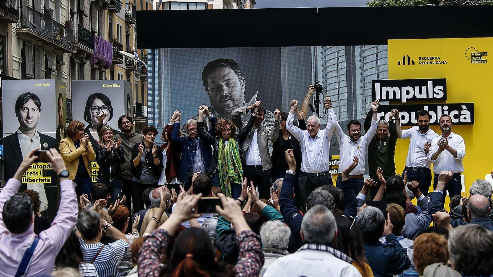 ERC demana la victòria de Junqueras per dur un pres a Europa
