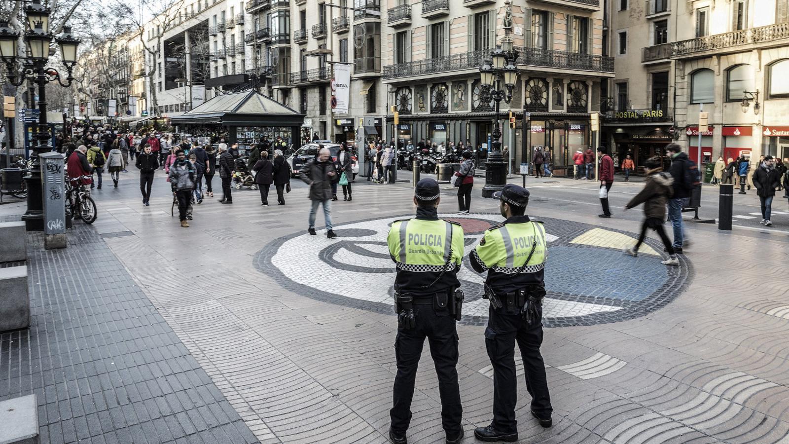 Els Mossos investiguen una amenaça terrorista per Nadal