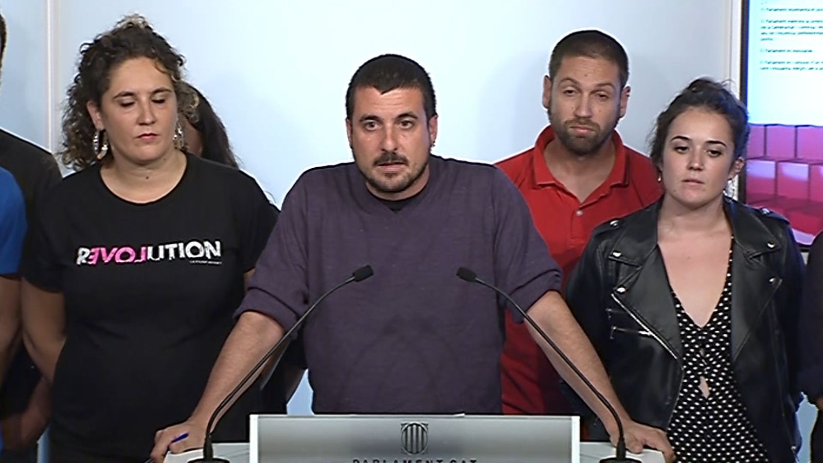 """Quim Arrufat: """"La nostra confiança en el Govern ha quedat tocada"""""""