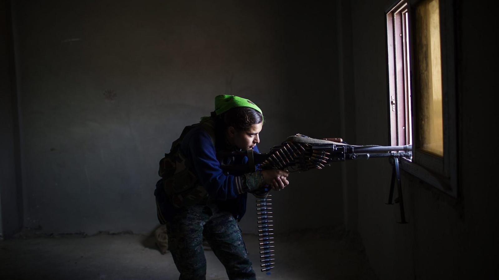 L'Estat Islàmic  té por de les milicianes kurdes