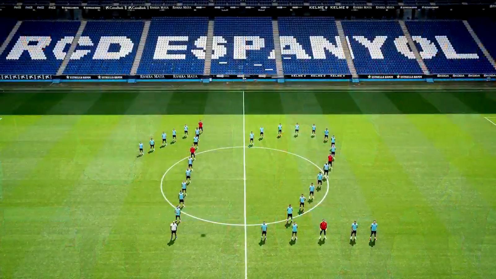 """""""Lluitarem per vosaltres"""": l'emotiu missatge de l'Espanyol"""