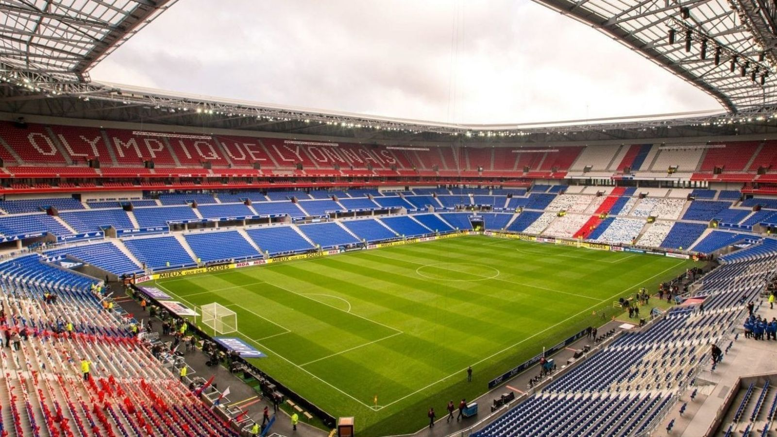 L'estadi de l'Olympique de Lió