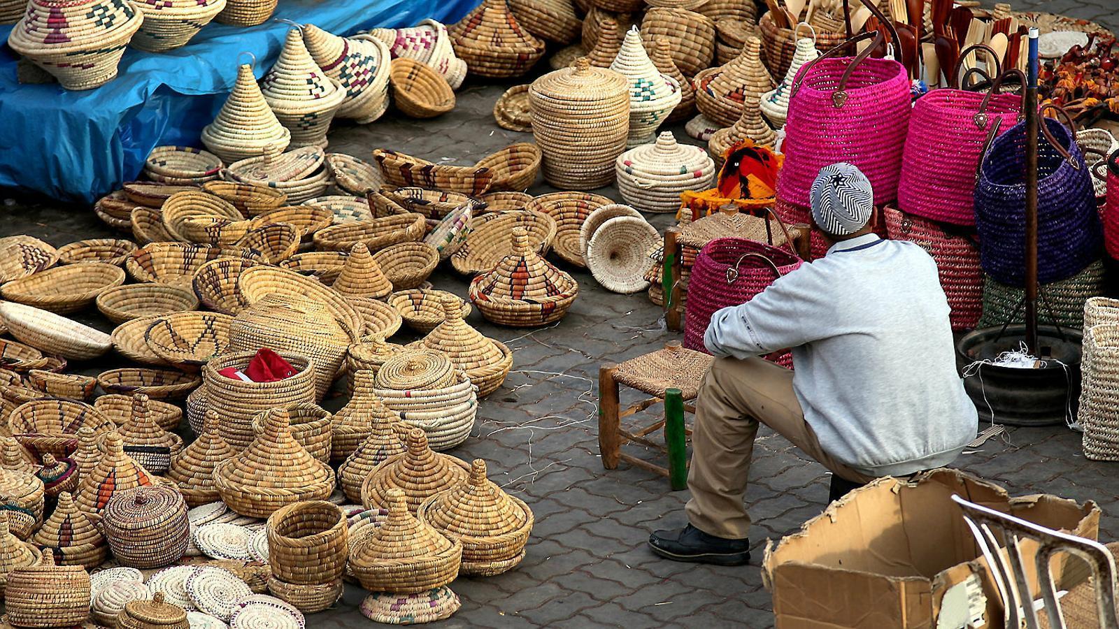 L'acord afectarà àmbits com l'agricultura, els serveis o els mercats públics. A la foto, imatge d'arxiu d'un mercat tunisià.