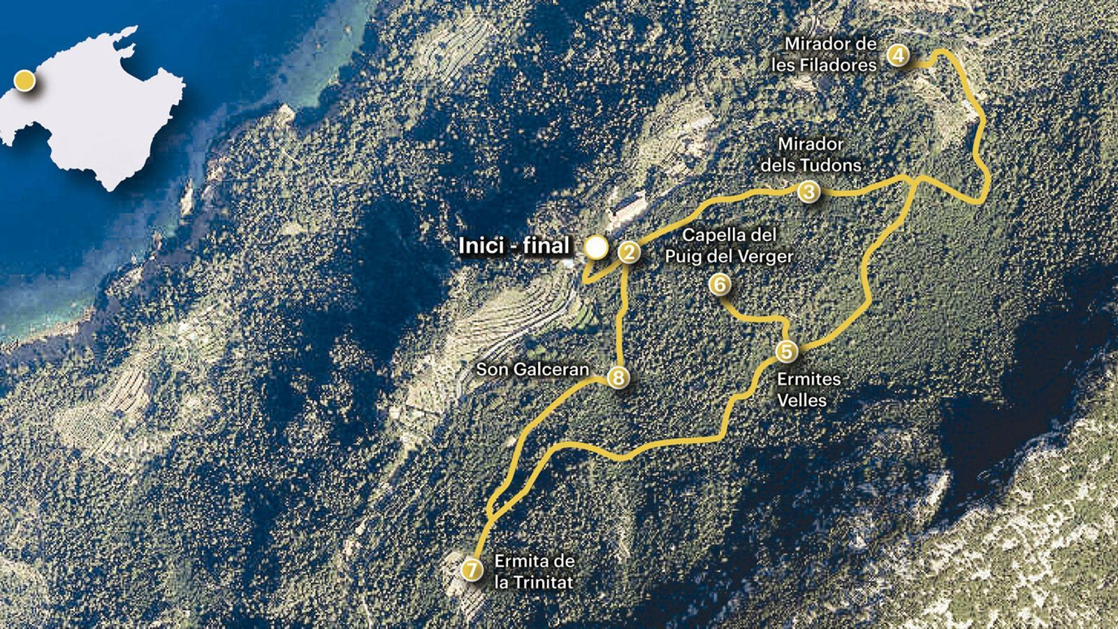 Les Ermites Velles,               la màgica connexió      entre Llull i l'Arxiduc
