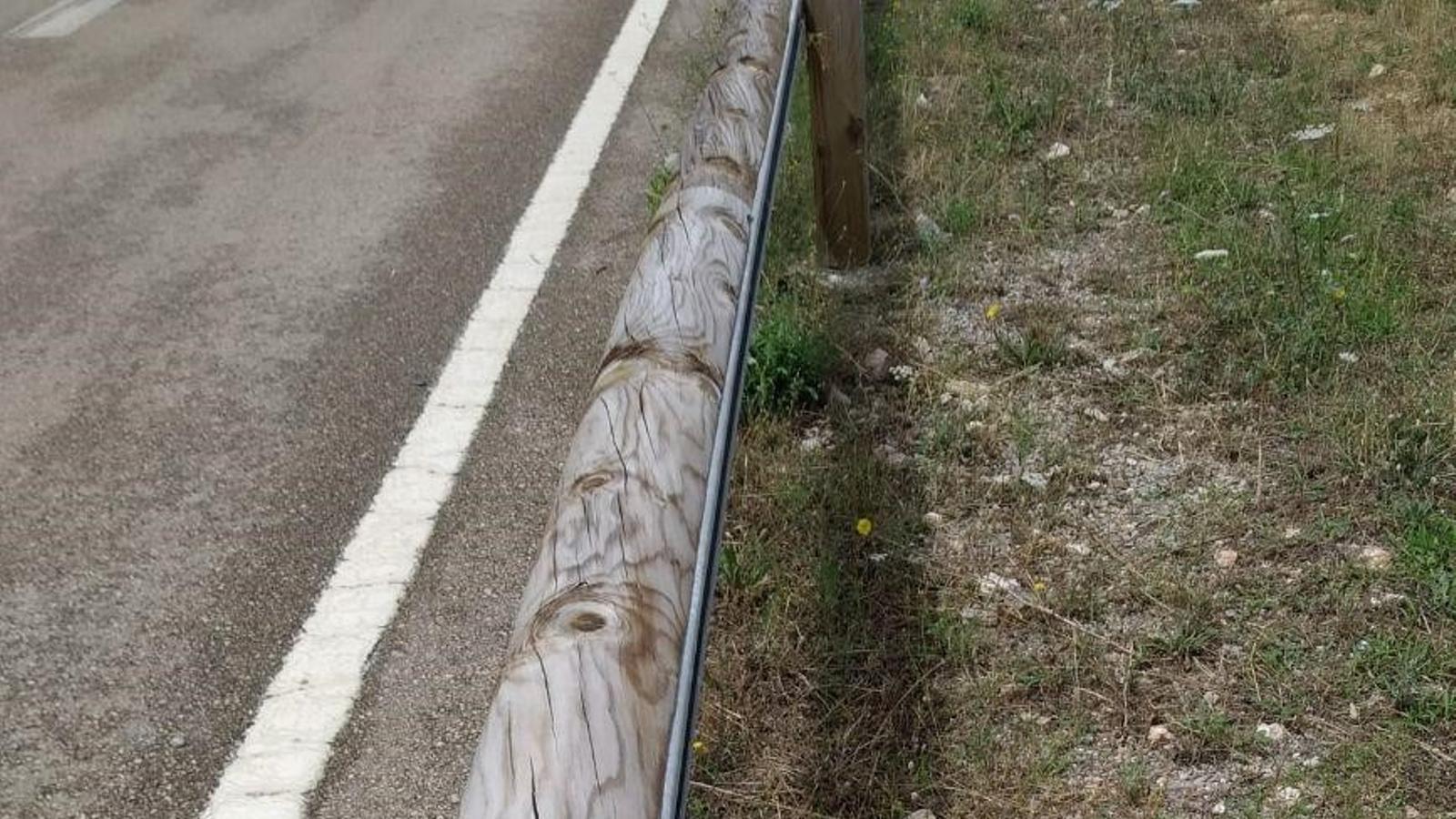 El Consell Executiu ha aprovat aquest dimecres l'expedient de contractació de les obres del projecte d'instal·lació de barreres de fusta./ CONSELL DE MALLORCA