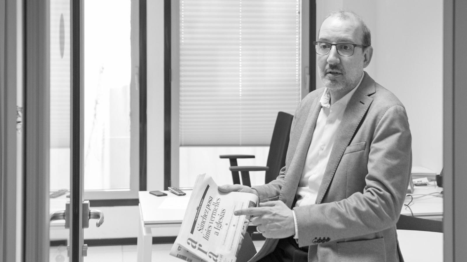 L'anàlisi d'Antoni Bassas: ''Brexit' i procés, ous i castanyes'