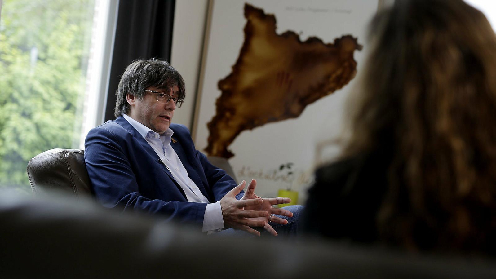 """Carles Puigdemont: """"Després de les eleccions hi haurà condicions per restablir la unitat estratègica"""""""