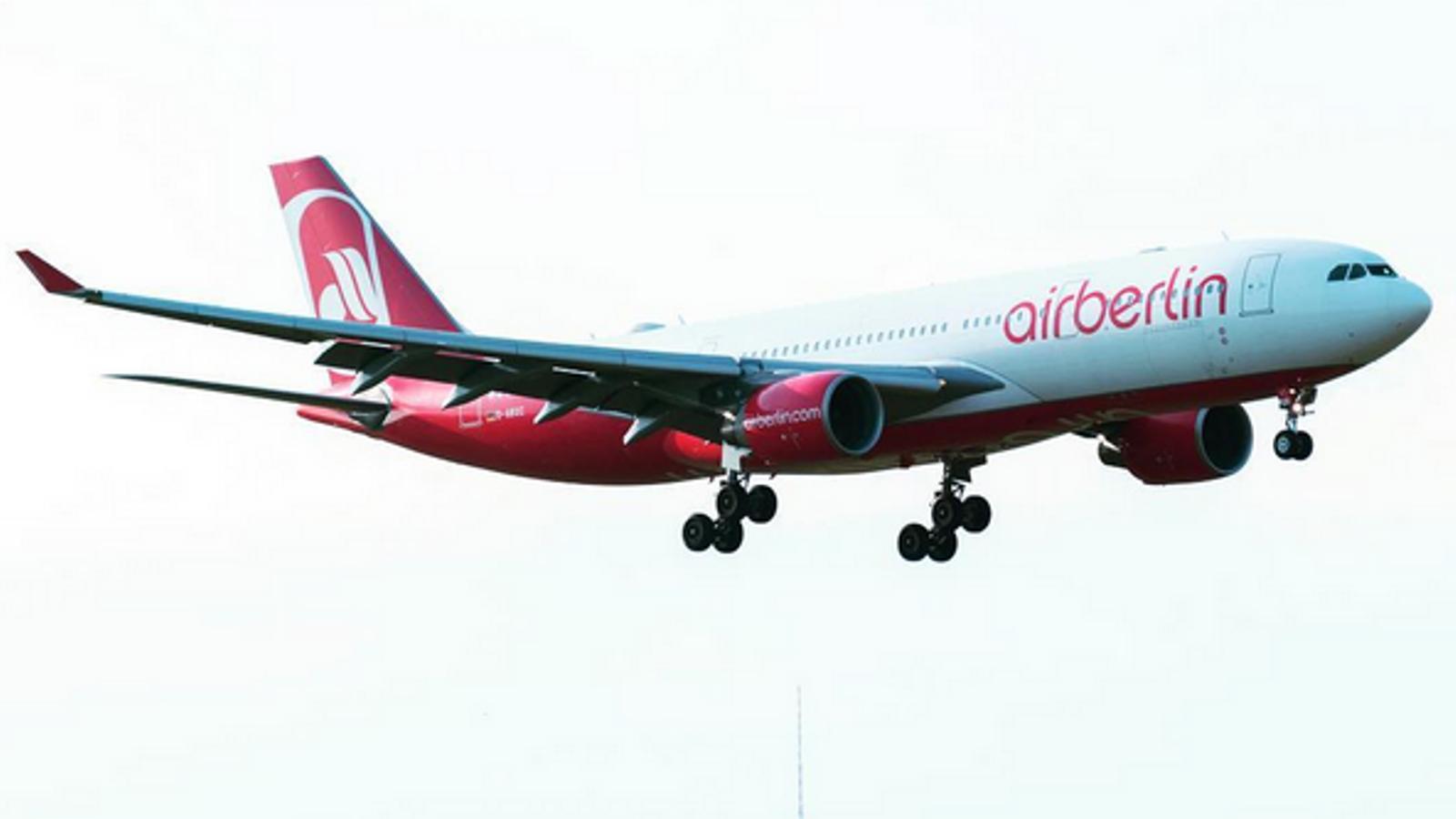 Air Berlin fa fallida i negocia la seva venda amb Lufthansa