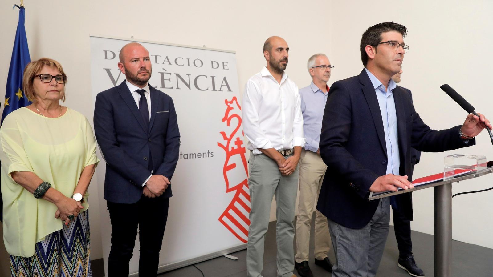 L'expresident de la Diputació de València pretenia gastar 2 milions d'euros en set contractacions irregulars