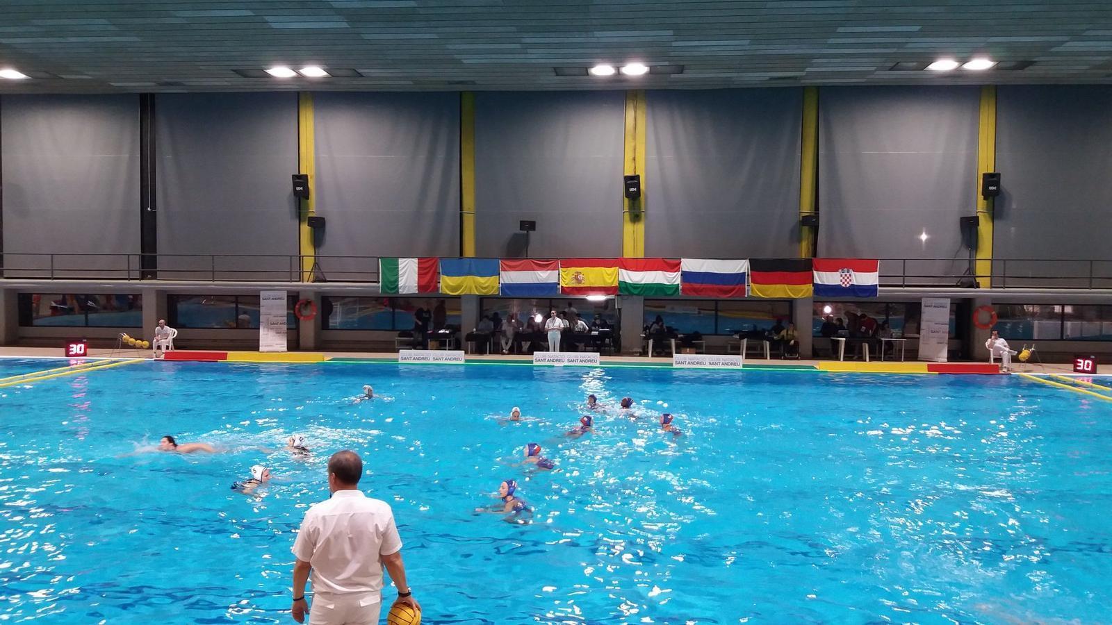 L'Atralpool Club Natació Sabadell ha vençut el Dunajvaros en el primer partit de la jornada