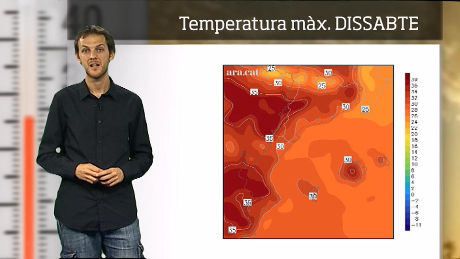 La méteo en 1 minut: calor de ple estiu