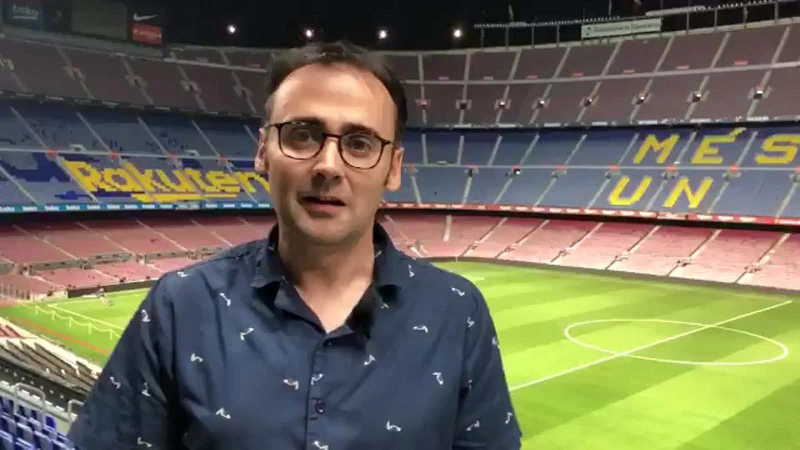 El resum del Barça-Betis de Toni Padilla