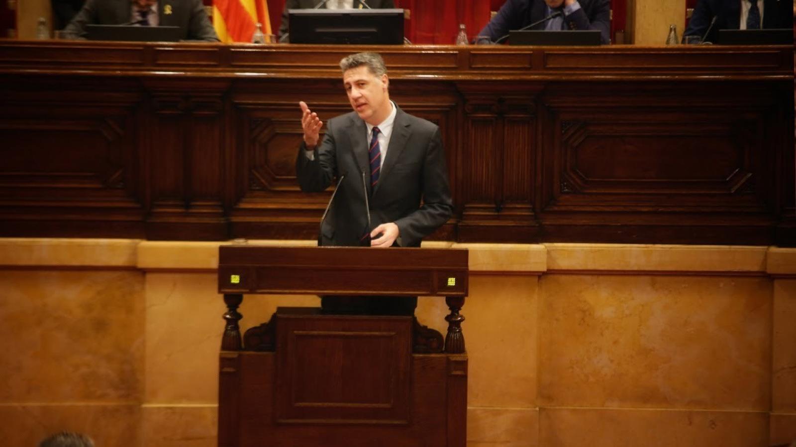 """Albiol: """"El diàleg que planteja a l'Estat és el que va dir Puigdemont 'referèndum o referèndum'?"""""""