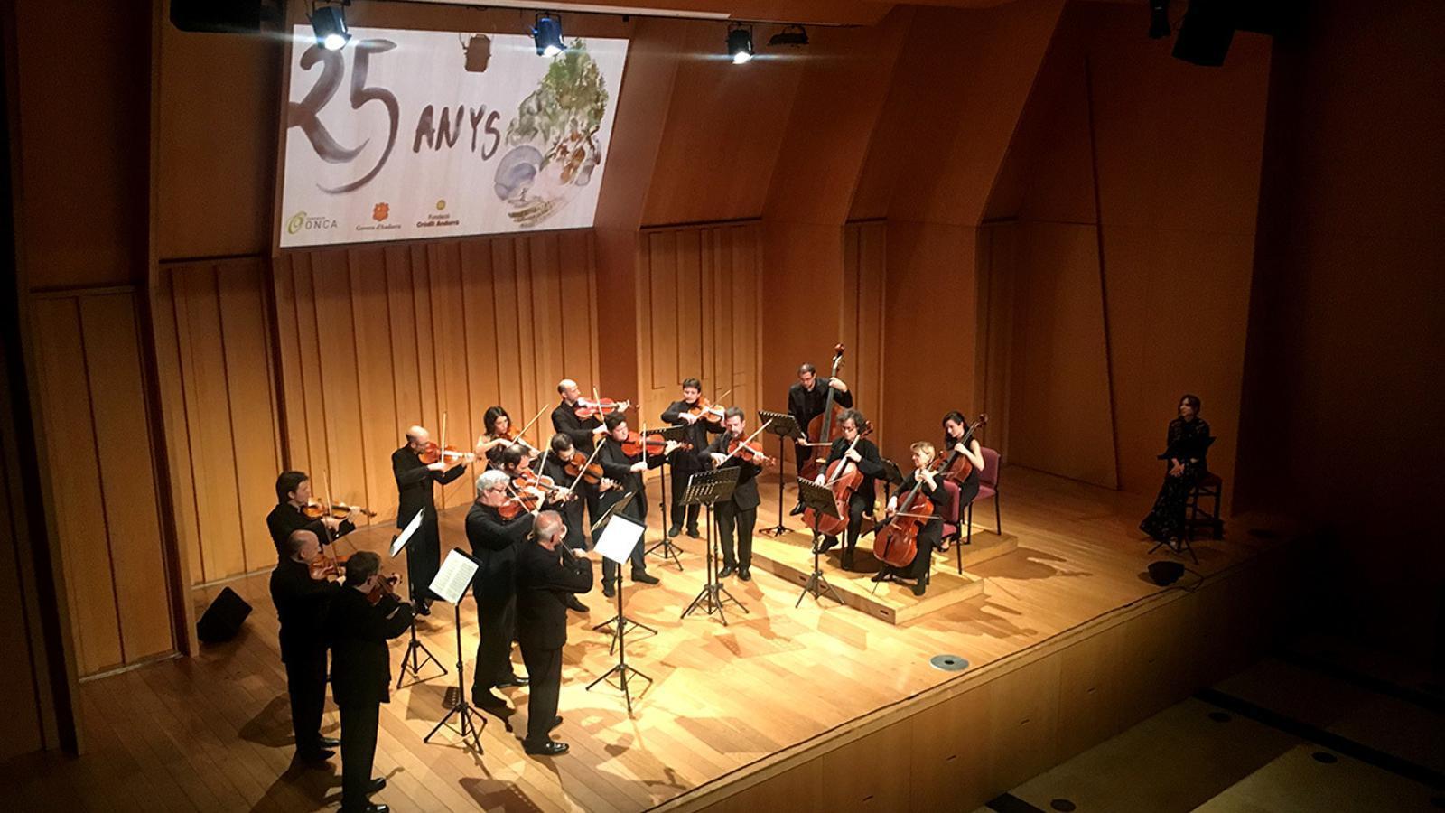 Concert de l'ONCA. / FUNDACIÓ ONCA