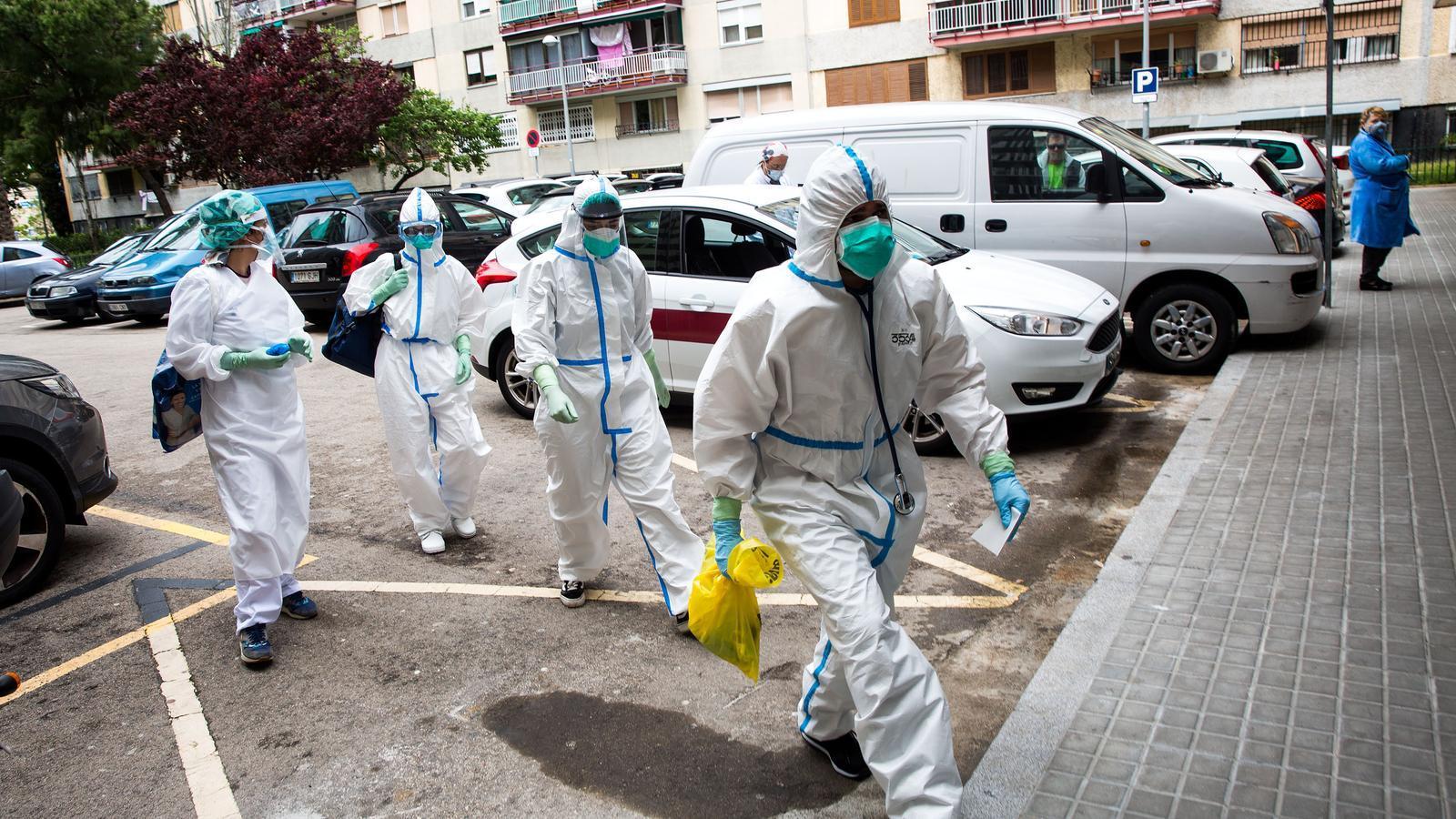 Mil euros de mitjana, la compensació que la Generalitat donarà als professionals per la lluita contra el covid-19