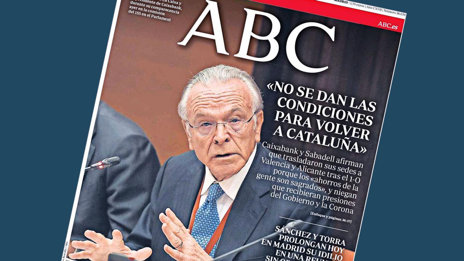 L'anàlisi d'Antoni Bassas: 'Les pressions als bancs sí que van existir'