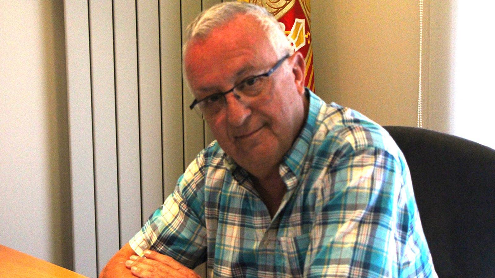 El president de la Cambra de Comerç, Indústria i Serveis, Miquel Armengol. / B. N.