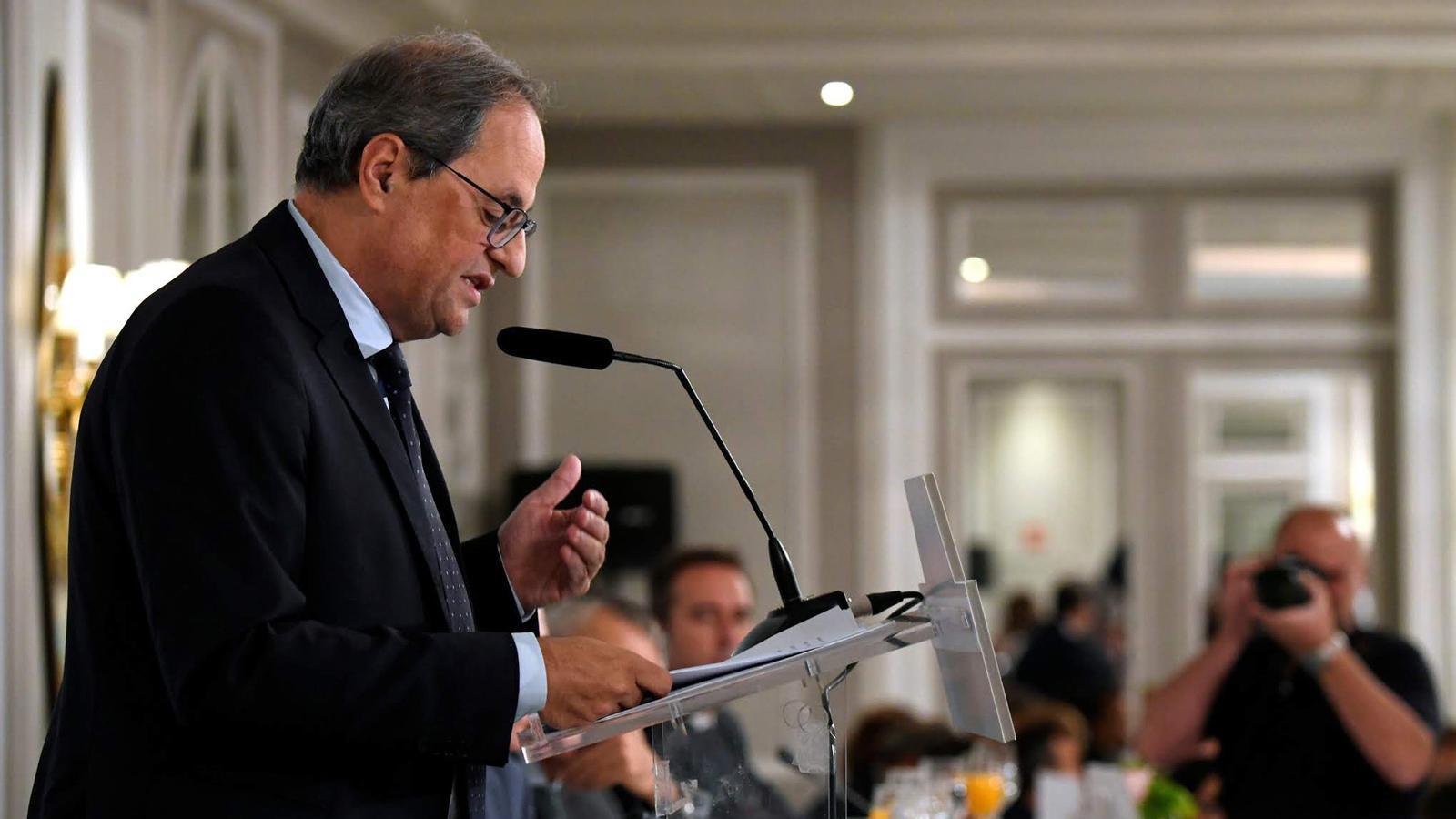 L'anàlisi d'Antoni Bassas: 'Torra parla a Madrid i la Moncloa hi envia el de la policia'