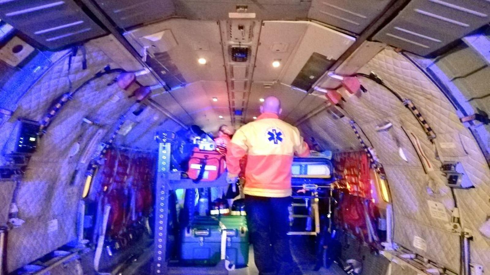 Traslladen d'urgència una pacient d'11 anys de Son Espases a l'hospital de la Vall d'Hebron