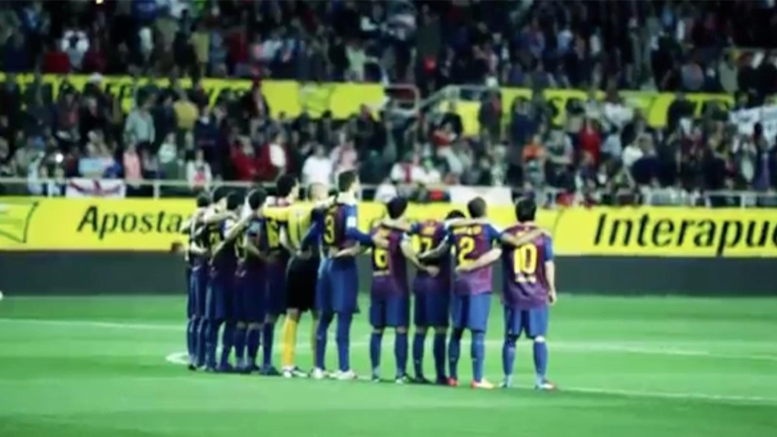 Vídeo promocional de la final de Copa que ha fet la productora de Pinto, Wahin Makinaciones