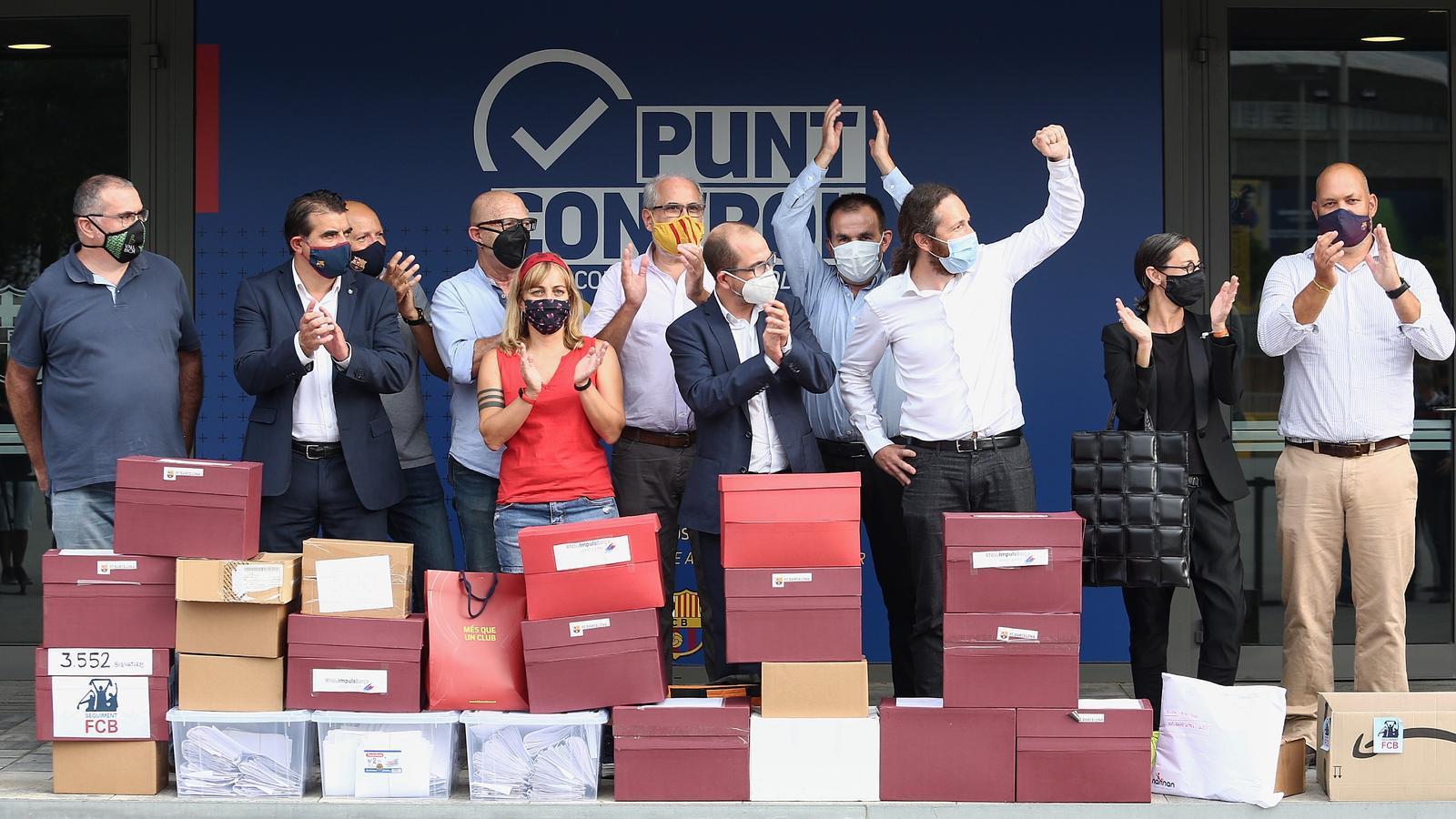 Més que una Moció recorrerà al Tribunal Català de l'Esport si Bartomeu no  convoca avui el vot de censura (Martí Molina)