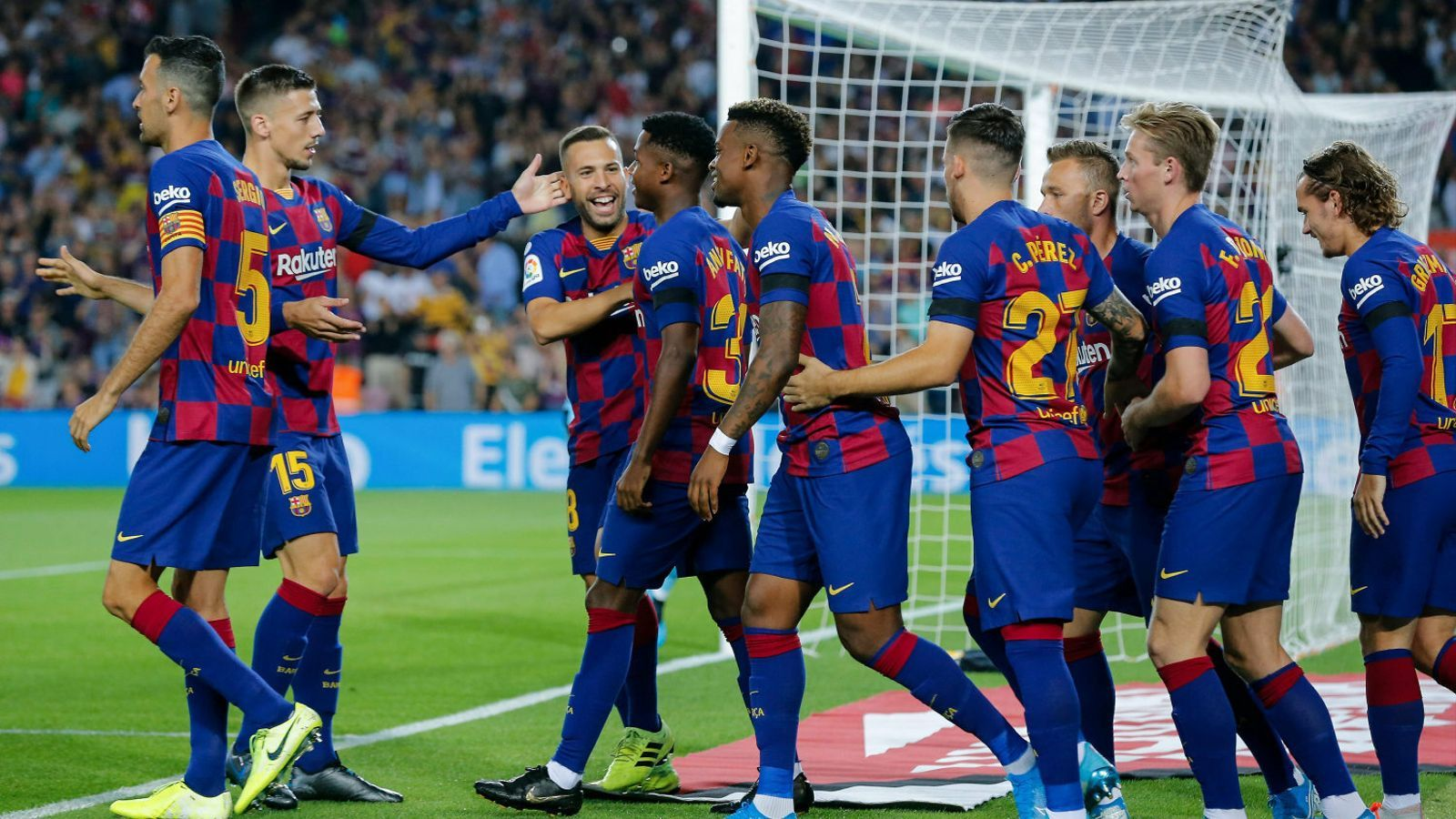 Fati reactiva el  Barça més ofensiu