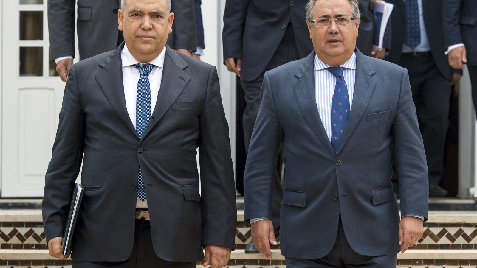 La policia marroquina det dos homes relacionats amb els for Ministre interior