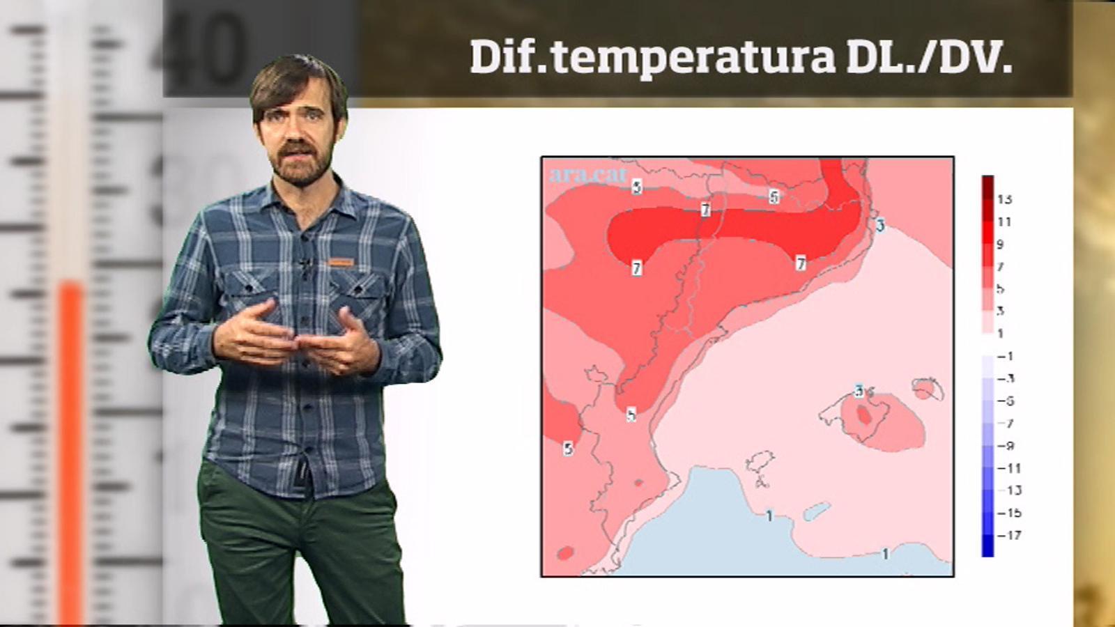 La méteo en 1 minut: estiuet i temps anticiclónic