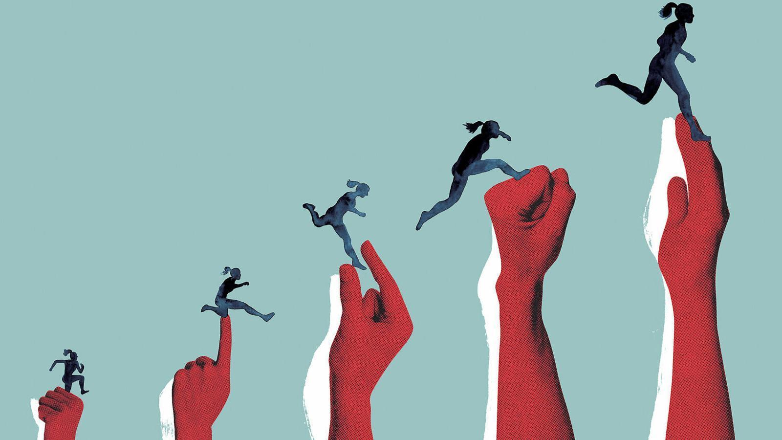 La cursa d'obstacles de les dones per sortir de la violència masclista