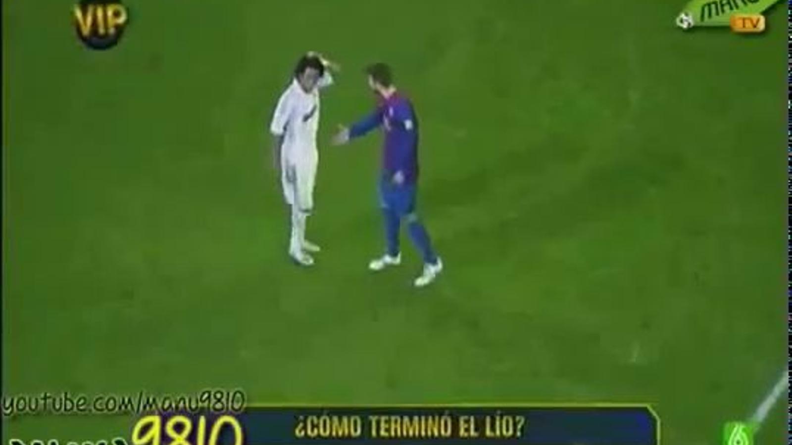 Marcelo es nega a saludar Piqué després del clàssic