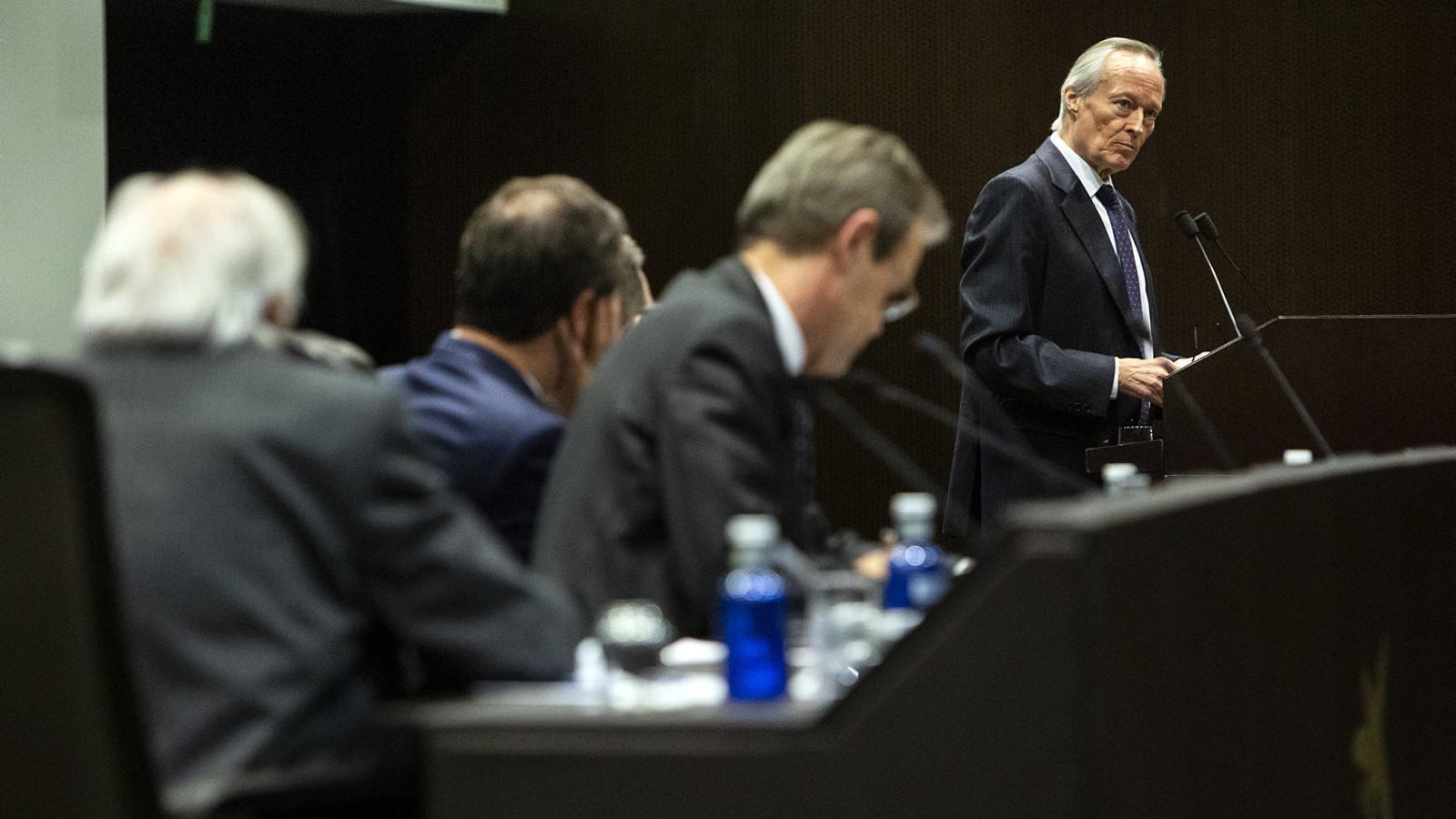 Josep Piqué: l'Iraq, Vox i una data per al referèndum
