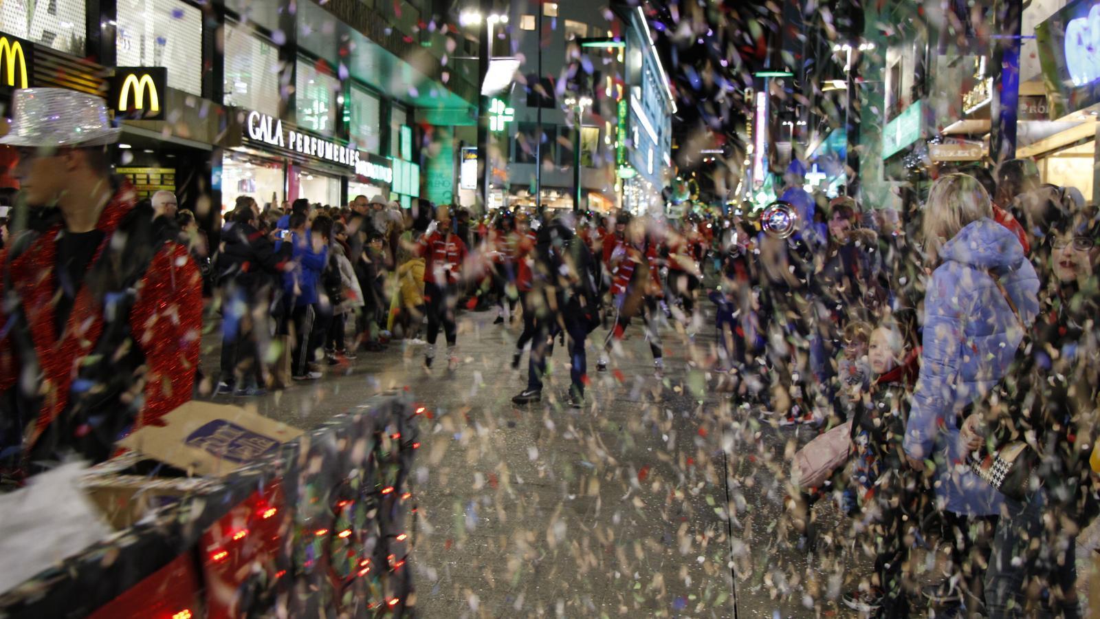 Els carrers d'Escaldes-Engordany i d'Andorra la Vella han estat una festa. / C. A. (ANA)