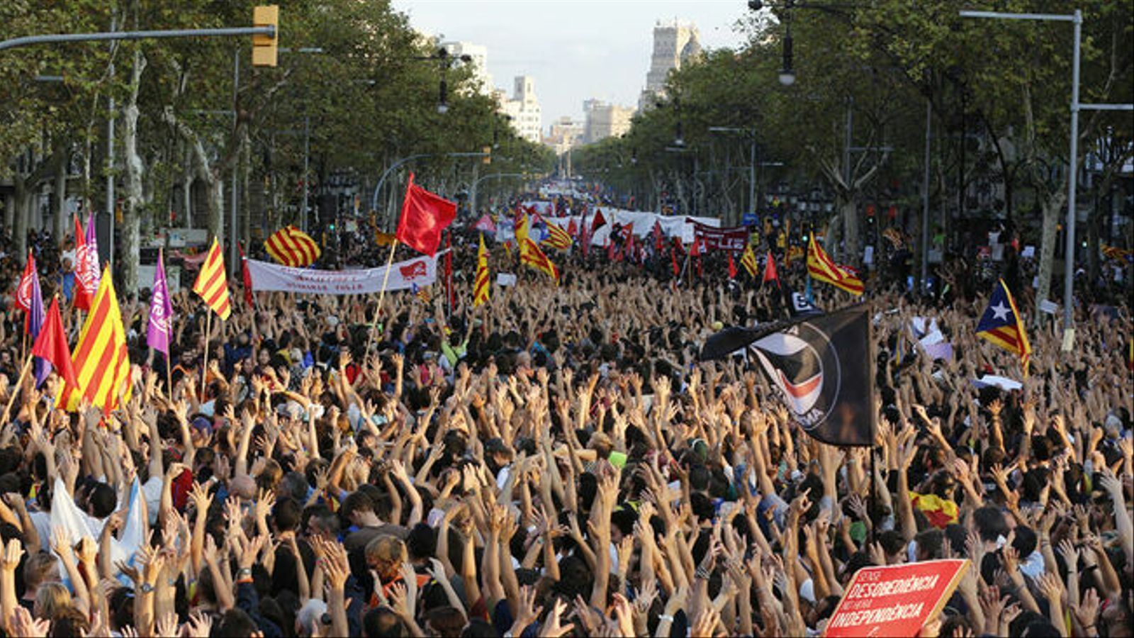 El Sindicat d'Estudiants crida a la vaga general de 72 hores com a resposta a la sentència de l'1-O