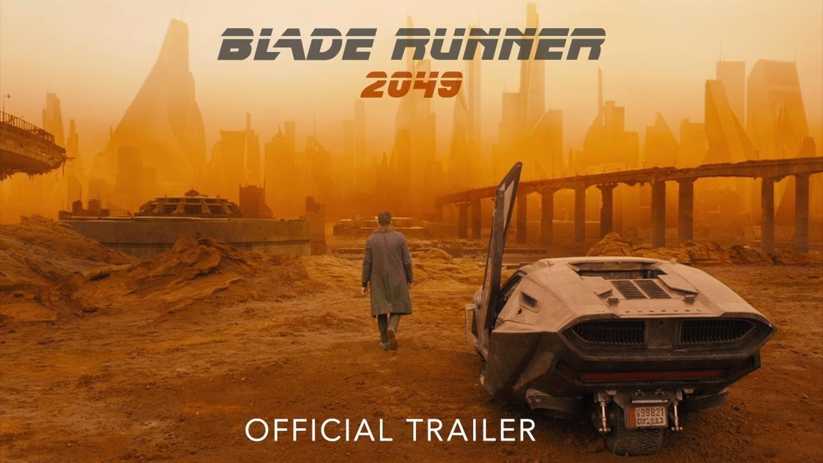 El tràiler de 'Blade Runner 2049'