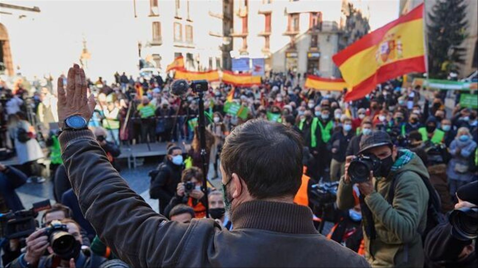 Glorification of nazism in Vox's Constitution Day Barcelona meeting