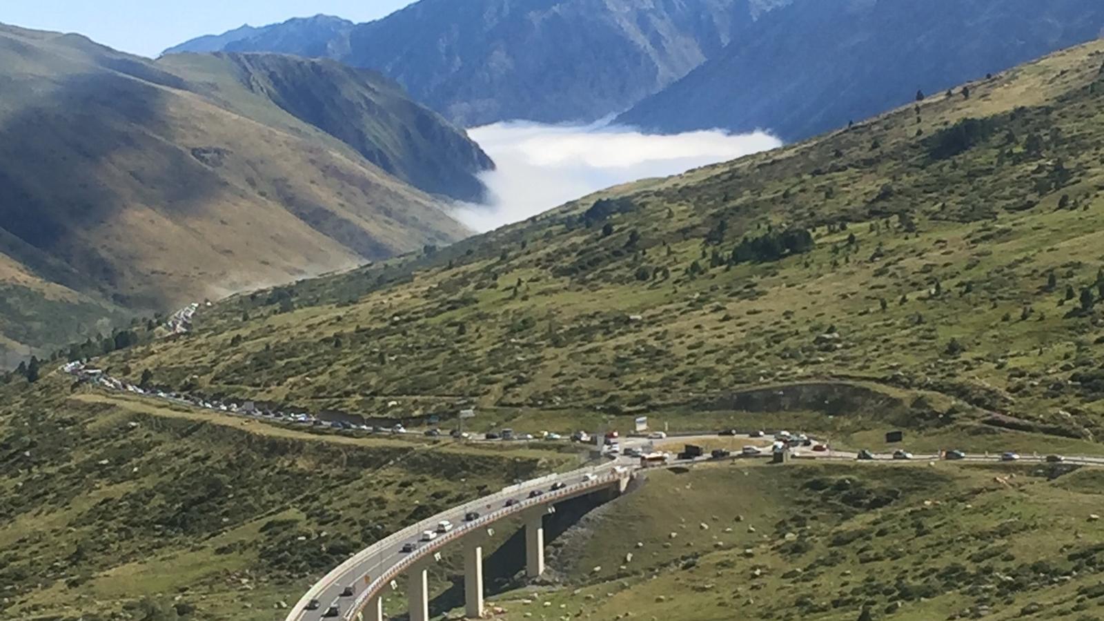 Retencions a l'entrada a Andorra des de França. / ARA ANDORRA