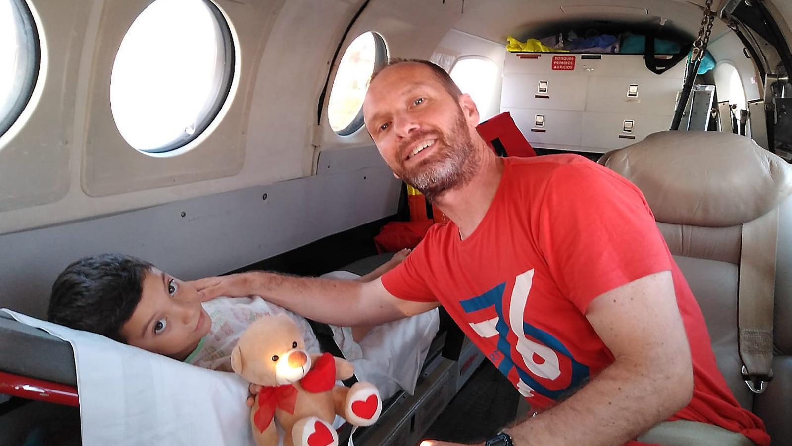 Lluc Pons, pare del nin diagnosticat de leucèmia, agraeix la resposta de la societat menorquina.