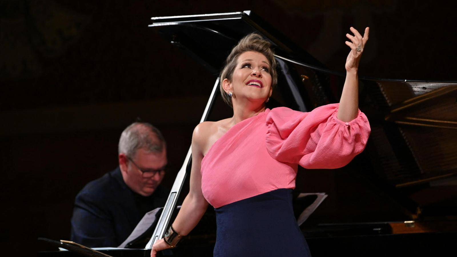 Joyce DiDonato durant el recital al Palau de la Música