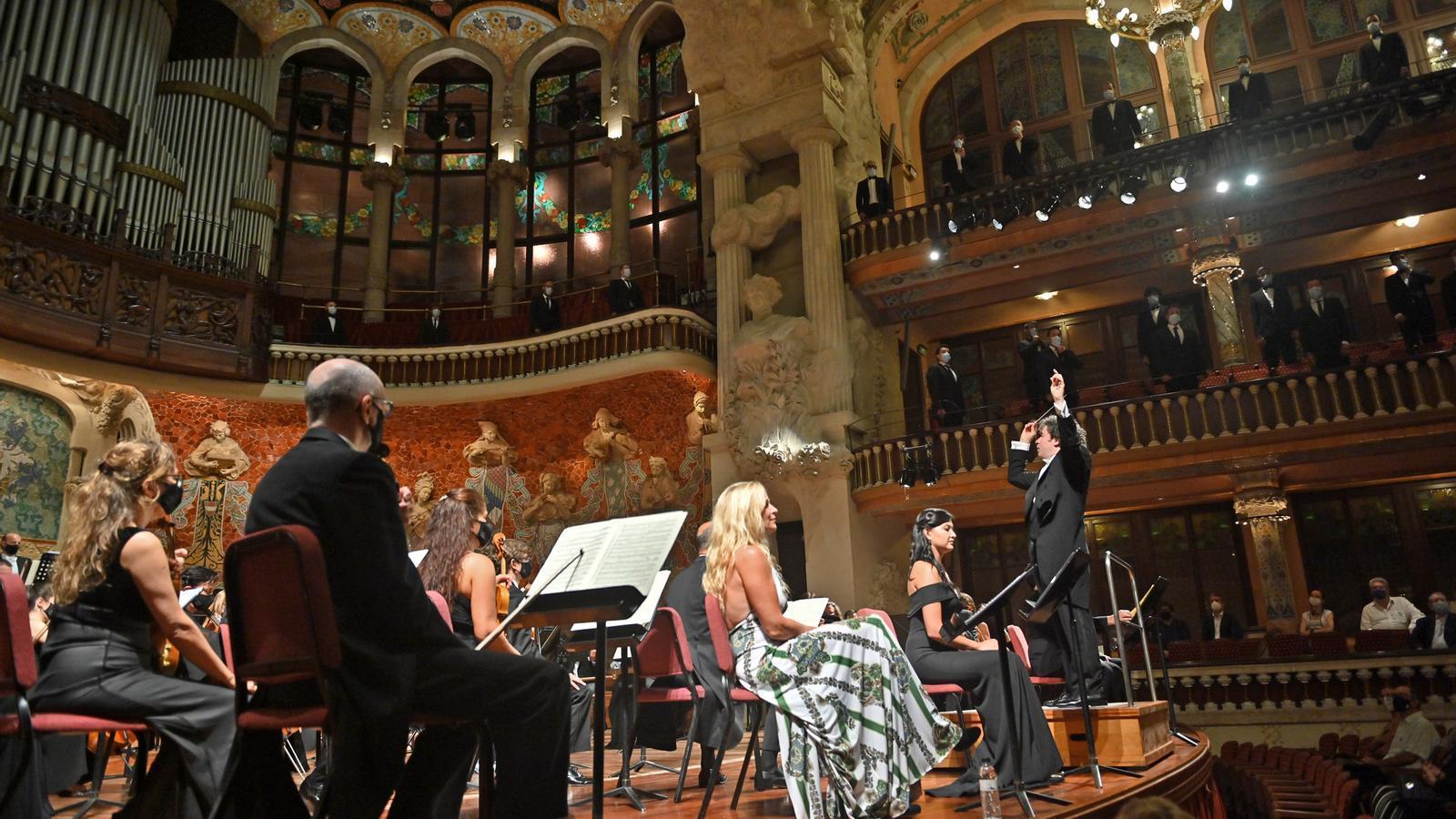 Gusatvo Dudamel al Palau de la Música.