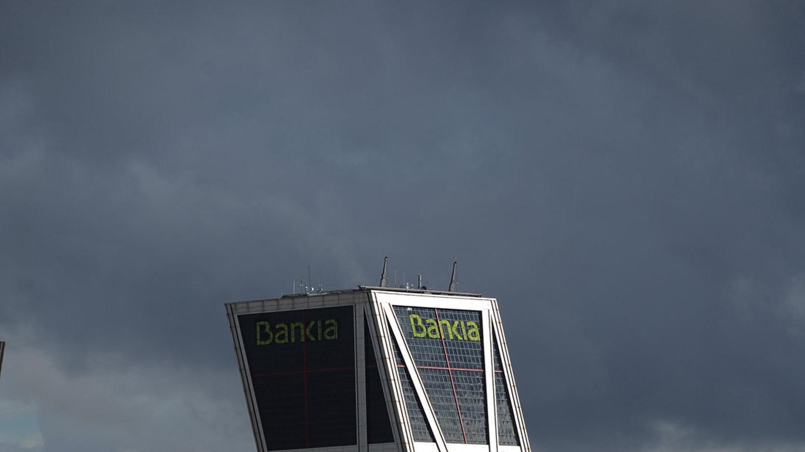 La troica va establir que l'Estat s'havia de vendre Bankia el 2017, però el govern ho ha anat posposant i ara el termini per fer-ho és el 2021.