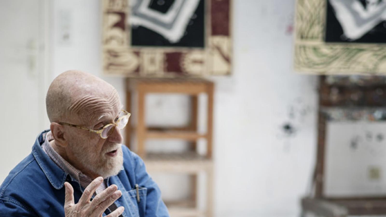 Pierre Alechinsky, visceral i venerable