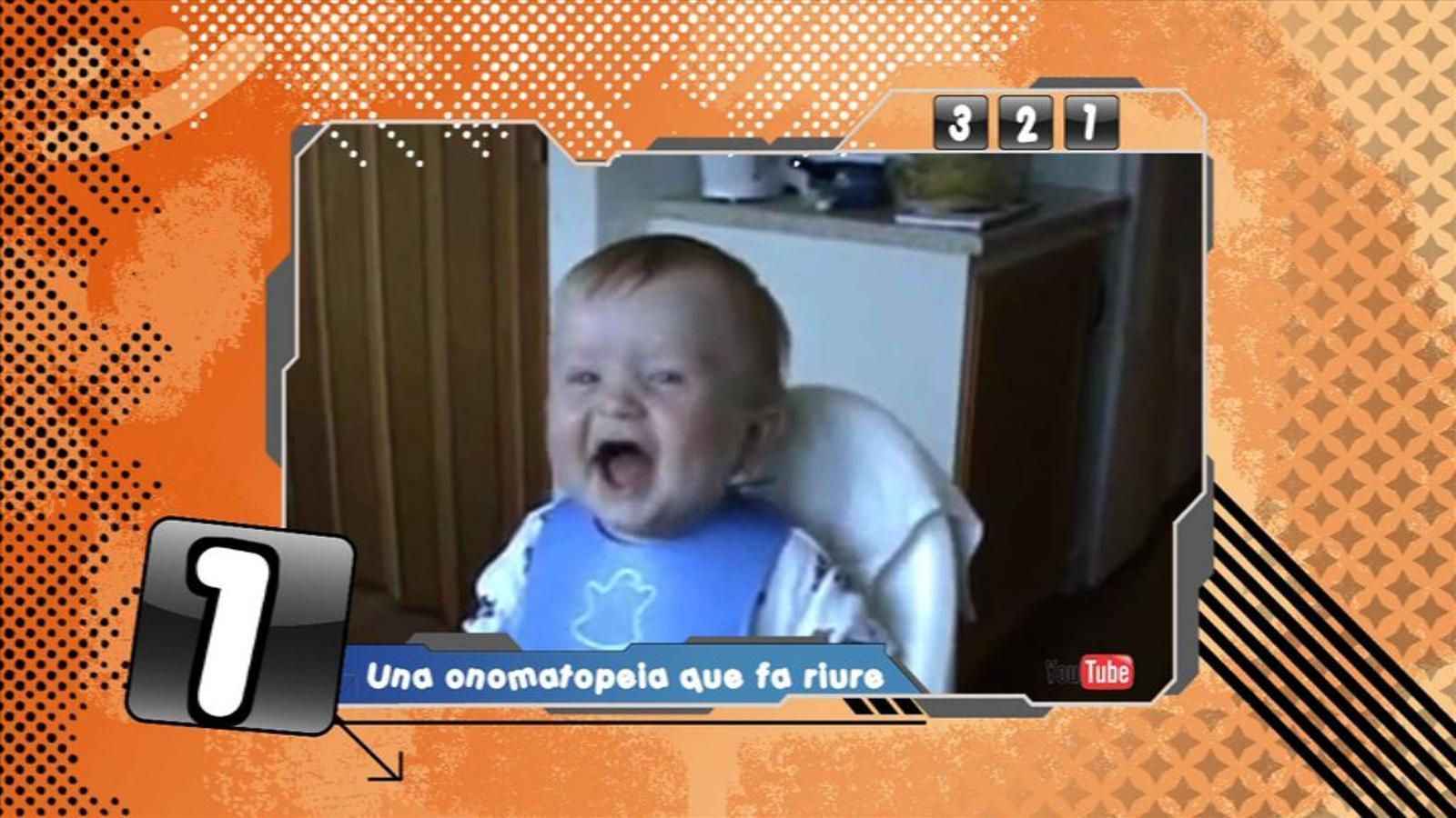 Criatures: Vídeos protagonitzats per nadons que encomanen el riure