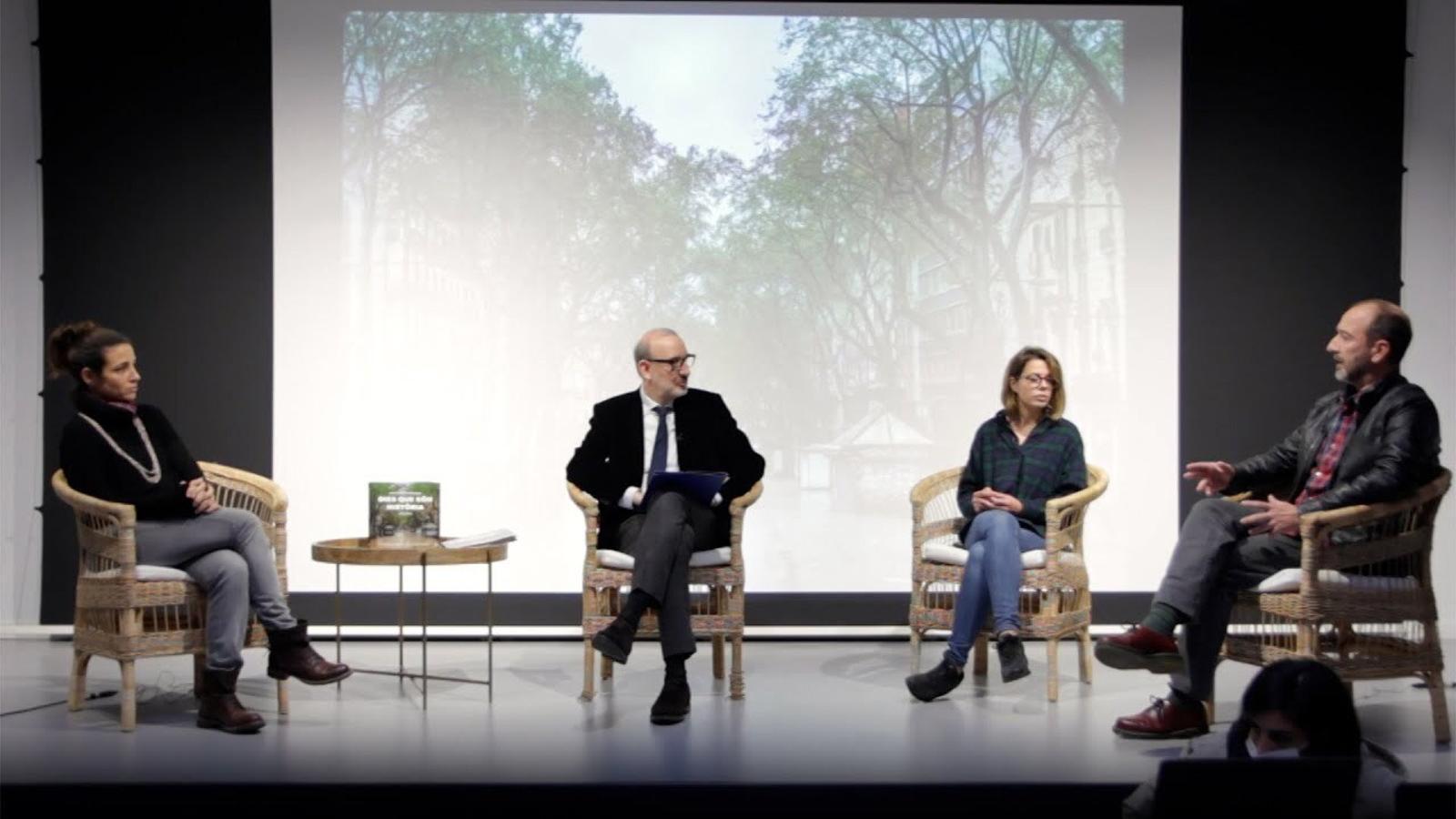 Entrevista d'Antoni Bassas a Xavier Bertral, Cèlia Atset i Anna Surinyach