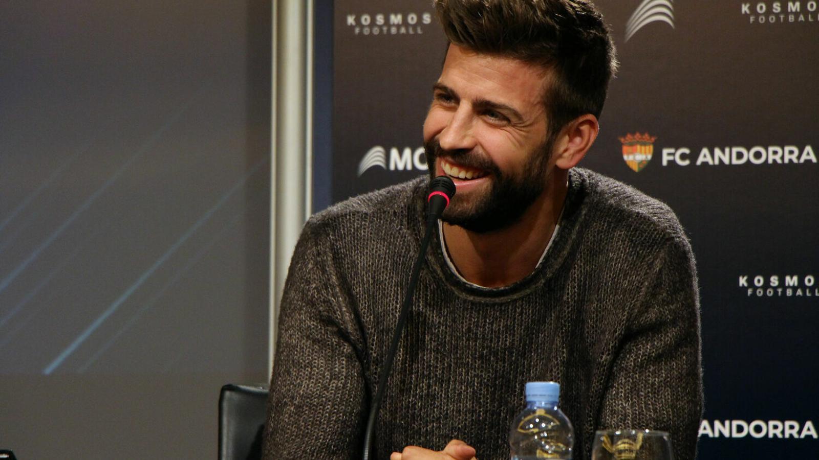 Gerard Piqué i el seu grup empresarial intentaran que el FC Andorra jugui a segona B. / C. G.