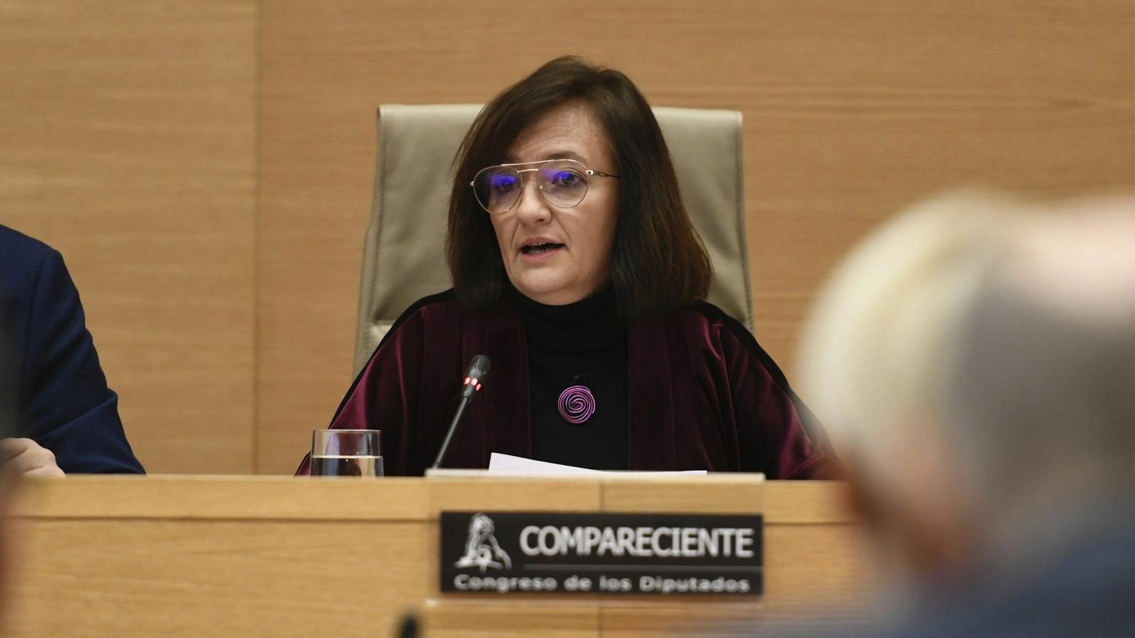 La presidenta d'AIReF, Cristina Herrero